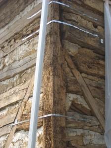 Braced frame & log construction