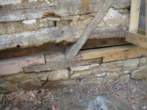 Sill log repairs
