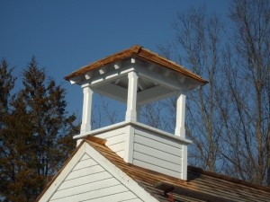 Bell cupola reconstruction complete