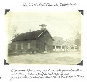 Historic photo of M.E.Church in Funkstown