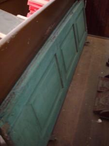 Shutters found in attic storage